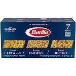 Barilla Farfalle Elbows, Rotini Variety Pack, 16 Ounce