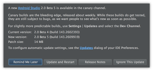 Android Studio 2.0 Beta 5 Available in the Canary Channel - Android Tools Project Site
