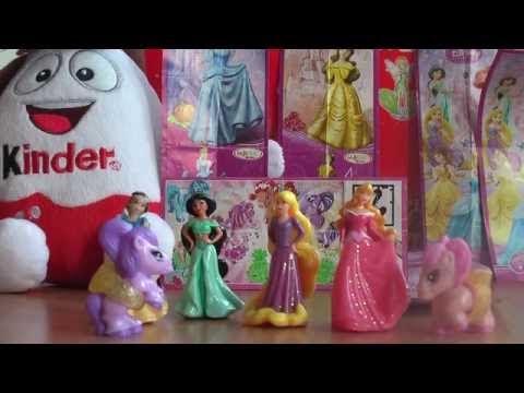 a79b42eb1edb Kinder Lego Fan  Princezné Disney Rapunzel Jasmine Aurora Snehulienka  Kinder Vajíčka