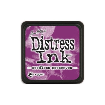 Tim Holtz Distress Mini Ink Pad SEEDLESS PRESERVES Ranger TDP40156