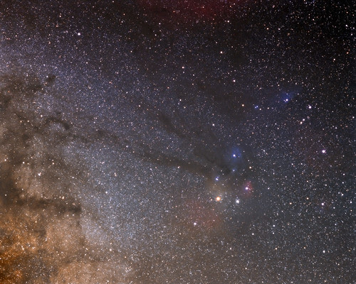 Ophiuchus / Scorpius Region by Nightfly Photography