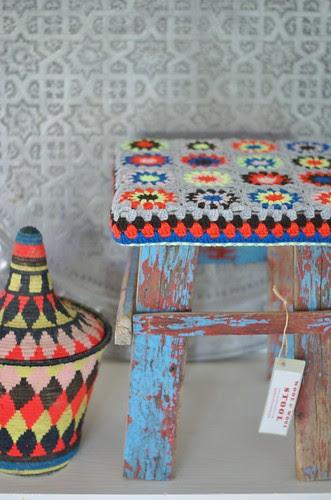 wood & wool stool morocco by wood & wool stool