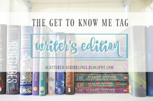 "The Writer's ""Get to Know Me"" Tag"