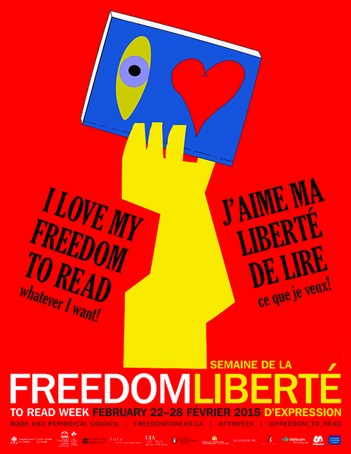 I love my freedom to read whatever I want! Support @Freedom_to_Read | Franke James