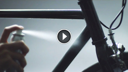 This Bike Was Sprayed With Special Paint. Once The Sun Goes Down, It Transforms Into THIS
