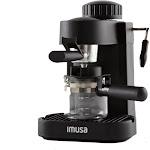 IMUSA Espresso & Cappuccino Maker Black - 4 Cup