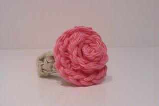 My crochet rose ring
