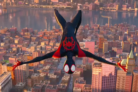 Spiderman - Into The Spiderverse Trailer 2 - Halcyon Realms - Art Book Reviews - Anime, Manga, Film, Photography