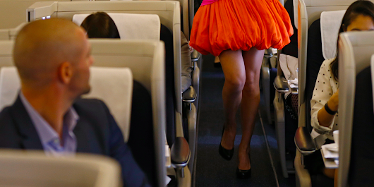 These two airlines encourage their customers to join the 'mile high club'