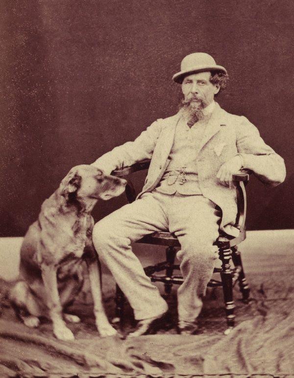 Charles Dickens az ő odaadó kutya Turk keresztül Spitalfields Life.
