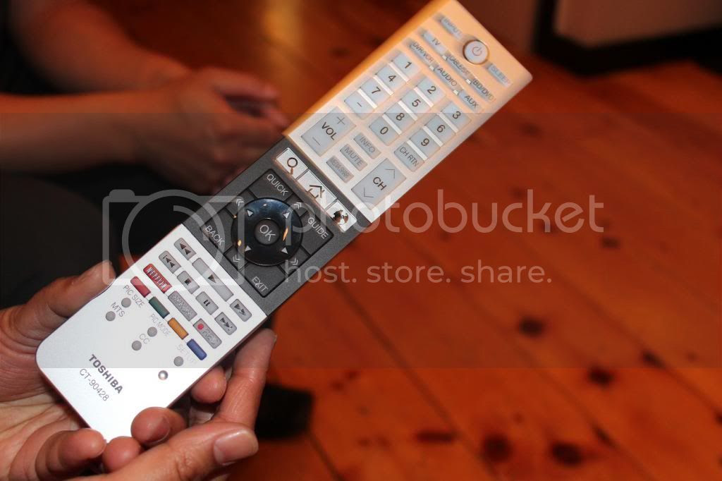 L4300 Cloud TV Remote