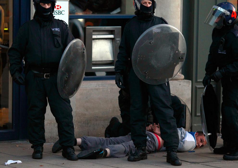 London Riots Violent Pictures
