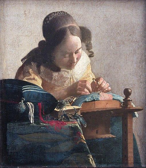 File:Johannes Vermeer - The lacemaker (c.1669-1671).jpg