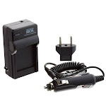 Premium Tech PT-81 AC/DC Rapid Battery Charger for Canon LP-E12 - VPPT