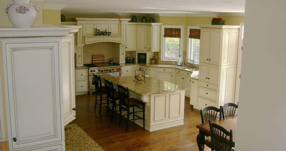 Glazed Kitchen Cabinets Long Island Suffolk Nassau