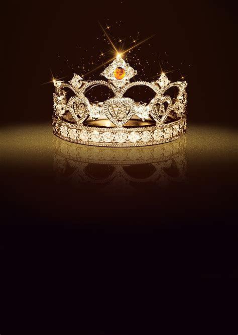Crown Cosmetics Background Poster, Queen, Crown, Diamond
