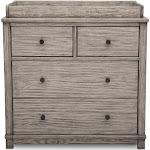 Simmons Monterey 4 Drawer Dresser Changer Combo Rustic White