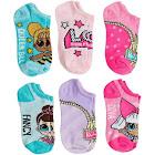 LOL Surprise! Little & Big Girls 6-pk. No-Show Socks - Asst