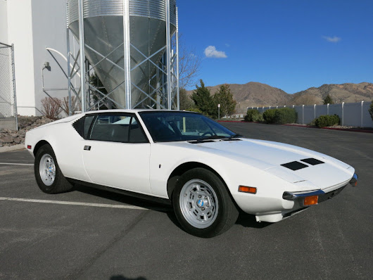 VERY ATTRACTIVE 1972 De Tomaso 2dr Coupe for sale