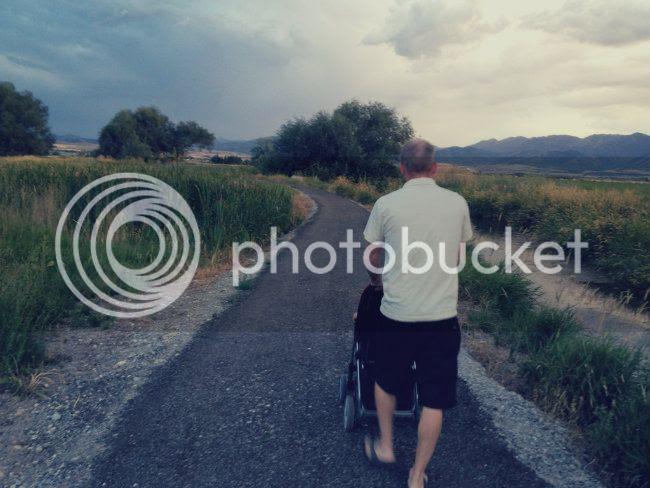 Dan walks