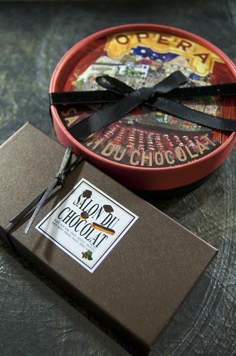 Selection Boxes, Salon du Chocolat Tokyo 2010, Shinjuku Isetan