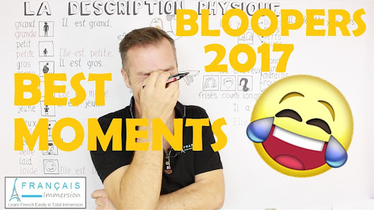 Best Moments & Bloopers 2017 - Français Immersion