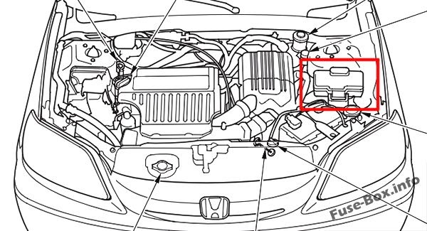 Wiring Diagram: 34 2005 Honda Civic Engine Diagram