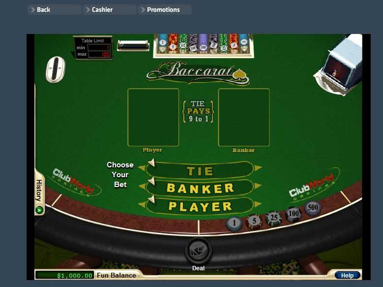 Club World Casino Winners