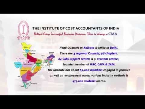 About Institute   of Cost accountants of india