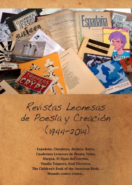 Portada del dossier sobre las revistas leonesas de poesía más significativas de los últimos 70 años.