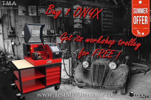 Summer offer 2017 : Buy 1 ONYX Get its workshop trolley
