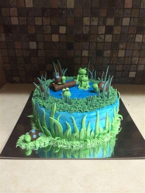 Best 25  Lake cake ideas on Pinterest   Penguin cakes