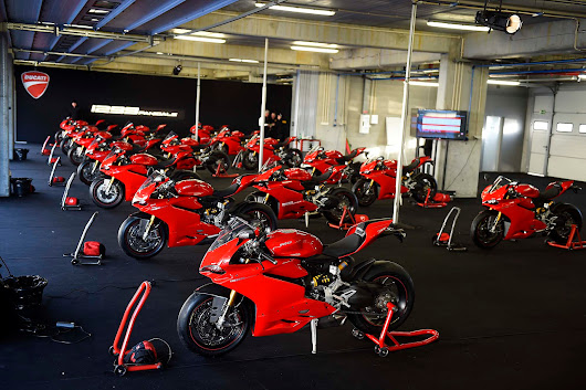 Ducati 1299 Panigale Official Launch Pictures - Portimao Circuit - Ducati 1299 Forum