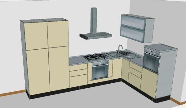 Casa immobiliare accessori cucine con lavello ad angolo for Casa accessori