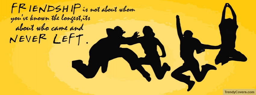 Friendship Quote Facebook Cover Trendycoverscom