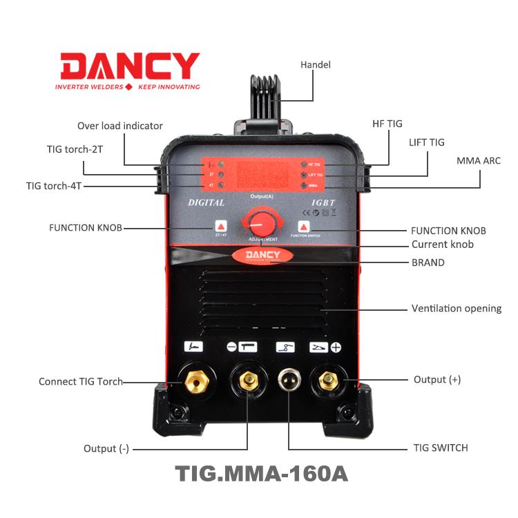 Dc Cheap Tig Welding Machine For Aluminium China Manufacturer