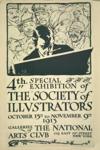 The Society of Illustration Digital ID: 1259037. New York Public Library