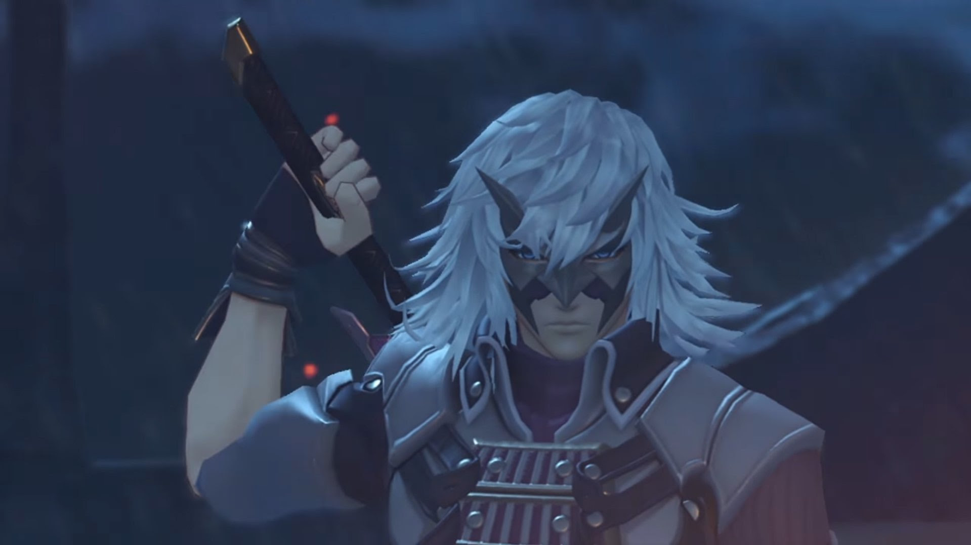 Tetsuya Nomura is a character designer for Xenoblade Chronicles 2 screenshot
