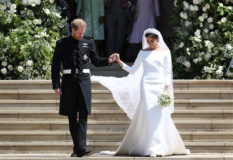 Meghan Markle's Wedding Dress Designed by Givenchy   Fortune