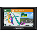 "Garmin - Drive 51 LM 5"" GPS with Lifetime Map Updates - Black"