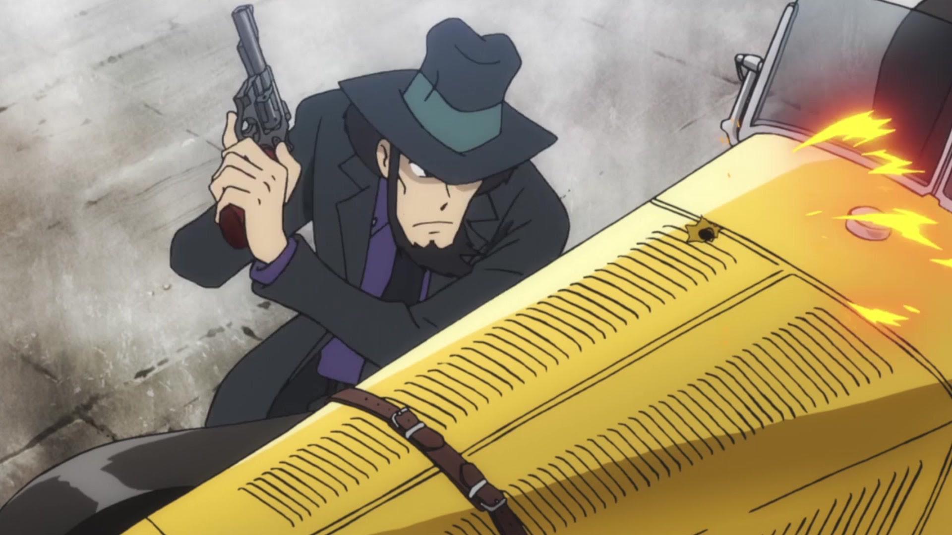 鲁邦三世 名副其实的真 Gun神 次元大介 哔哩哔哩 つロ干杯