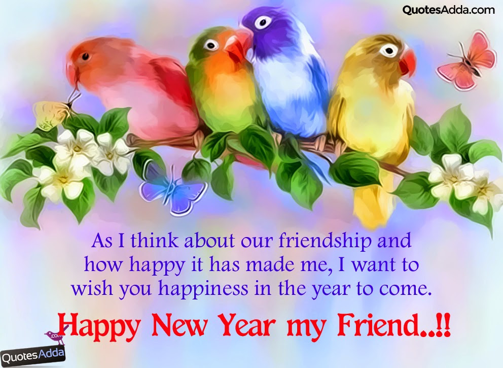 Cute New Year Wishes For Friends Newyearcooltestinfo