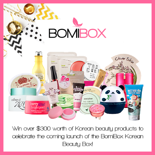 Twitter - BomiBox Launch Giveaway
