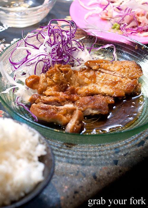 Teriyaki chicken at Umi Kaiten-Zushi