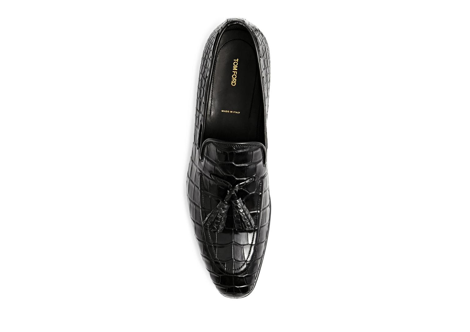 Mens Tassel Loafer Shoes