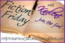 Fiction Friday,button,karlene