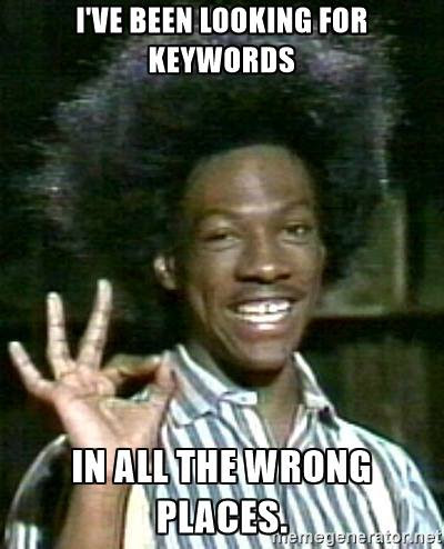 Are You Looking for Keywords in All the Wrong Places? | Dijital Farm