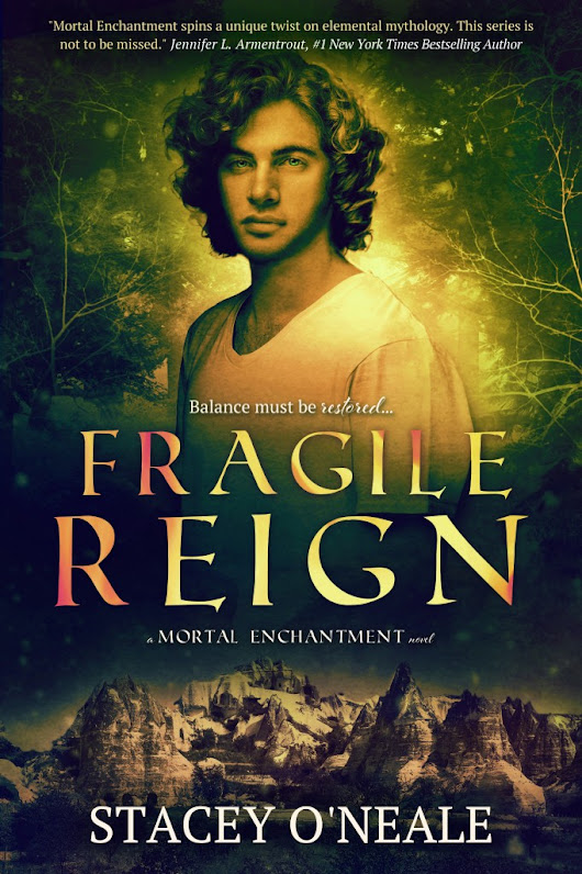 Cover Reveal: Fragile Reign by Stacey O'Neale