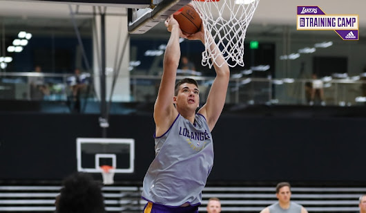 Zubac Hungry to Prove Summer League a Fluke | Los Angeles Lakers
