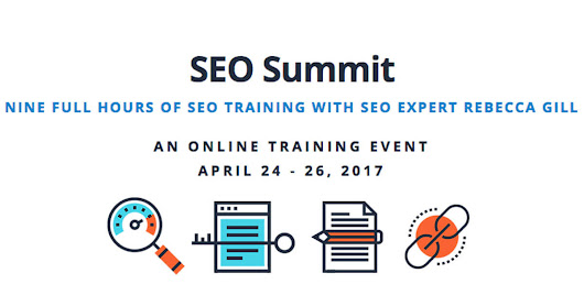 Sign Up for SEO Summit and 3 Days of Online Training With Rebecca Gill